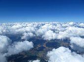 Aerial cloudscape.