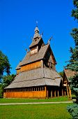 stave church of Norwegian design