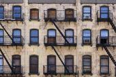 New York Tenement Building poster
