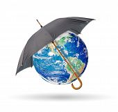 Earth Protected Of Umbrella