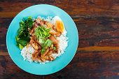 Thai Pork Leg Pot Stewed With Rice