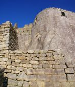 Inca Buildings With Fine Stonework