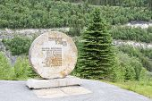 RJUKAN, NORWAY - JULY 07. Landmark of the sabotage 1943, on July 07, 2010 in Rjukan, Norway.
