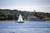 Sailing Off Cape Cod