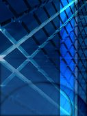 Blue Cube Layer