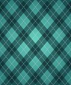St.patrick's Day's Rhombic Pattern
