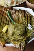 Bhetki Paturi - Fish Wrapped In A Banana Leaf