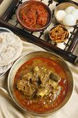Pakku Mutton Curry - A Typical Mutton Curry Of Sikkim.