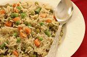 Vegetable Biryani - A Popular Indian Veg Dish Made With Vegetables And Basmati Rice.