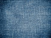 blue jean background and texture close up