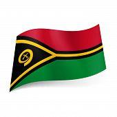 State flag of Vanuatu