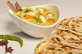 picture of paneer  - Front View of Hot and spicy butter Paneer Malsala - JPG