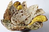 Naan Platter- Indian Flat Breads.