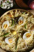 Hyderabadi Egg Biryani - A Rice Based Dish Most Popular Dish In Hyderabad.