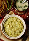 Magni Dalni Khichdi - A Vegetarian Rice Dish Gujarat
