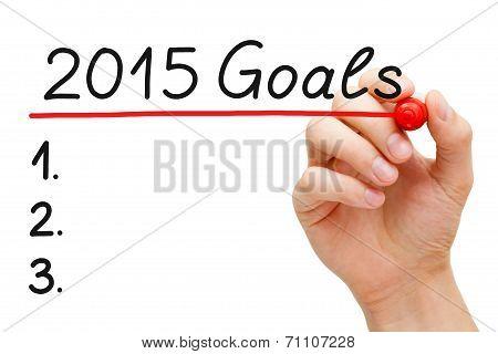 Goals 2015 poster