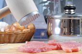 Fresh Pork Meat Preparation