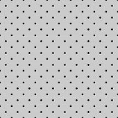 Seamless black and grey vector pattern or tile background set with small polka dots