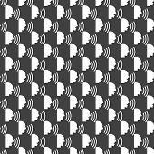 talking web icon. flat design. Seamless pattern.