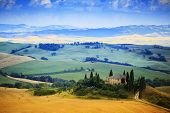 Tuscany, Italiy - San Quirico d'Orcia
