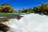 Waterfall Manavgat At Turkey