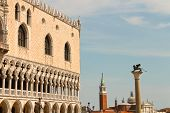 View Of Doge's Palace At San Marco Square, Venice, Italy