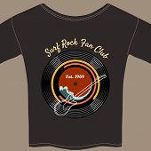 Surf Rock tee shirt