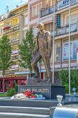 Statue of Zahir Pajaziti in Pristina