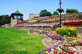 Castle gardens, Tamworth.
