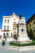stock photo of corazon  - Sagrado Corazon de Jesus Residence in Teruel Aragon Spain - JPG