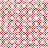 tiled red
