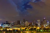 Denver Colorado Downtown Skyline