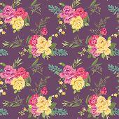 foto of shabby chic  - Flower Background  - JPG