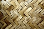 Texture pattern background, woven wood