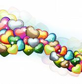 Valentine Hearts Wave