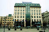 Vilnius City Centre At Autumn Time On November 14, 2014