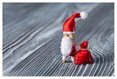 Santa Christmas Concept - Clothespin