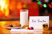 For Santa.