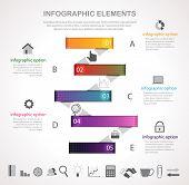 Stripes Option Infographic