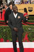 LOS ANGELES - JAN 25:  Michael Kenneth Williams at the 2015 Screen Actor Guild Awards at the Shrine Auditorium on January 25, 2015 in Los Angeles, CA