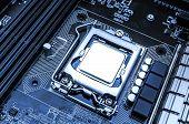Board with processor