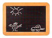 Slate Chalk Board