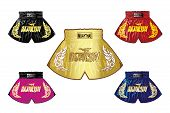 thai boxing shorts set