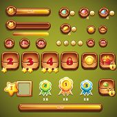 Large Set Of Boosters, Progress Bars, Frames, Buttons