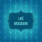 lace blue background