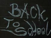 Black Board Back To School
