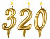 Candles Number Three Hundred Twenty