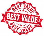 Best Value Red Vintage Isolated Seal