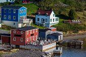 stock photo of trinity  - The colorful fishing village of Trinity - JPG