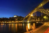 picture of dom  - View of the historic city of Porto - JPG